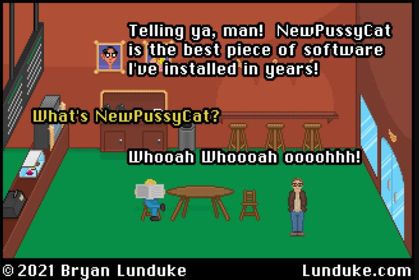 Bryan Lunduke Tech Humor