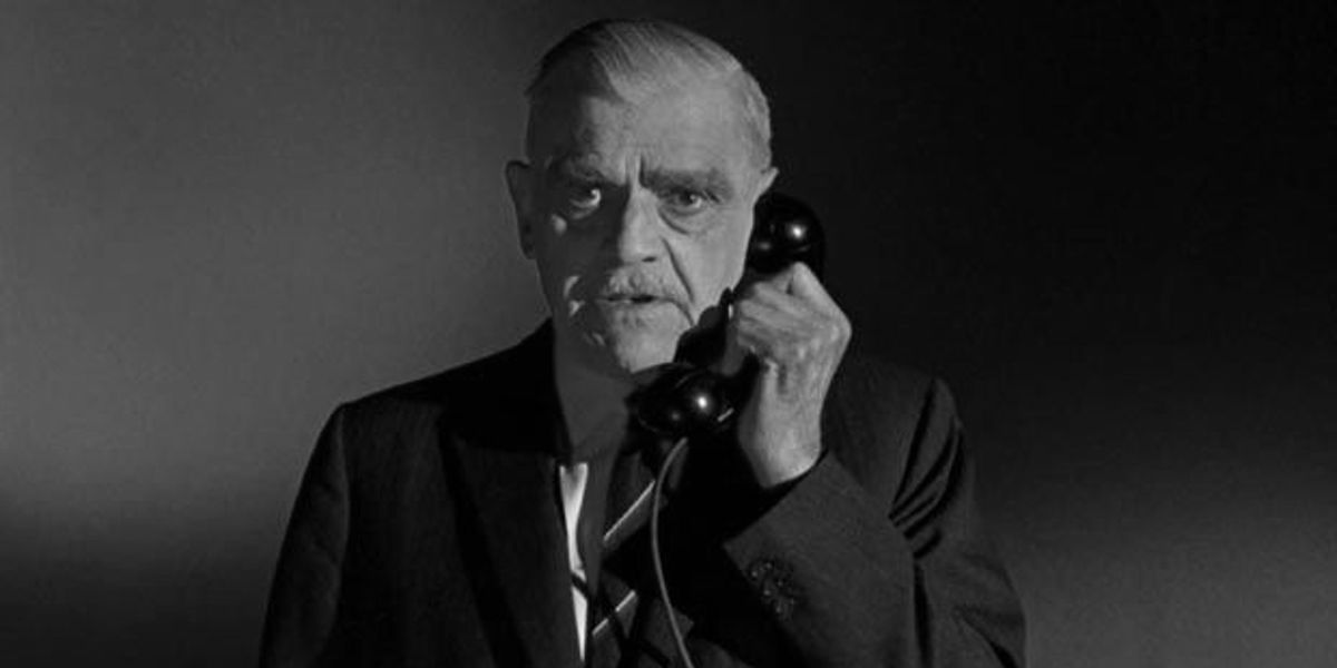 Boris Karloff is on the phone and he wants you to contact Bill Mize
