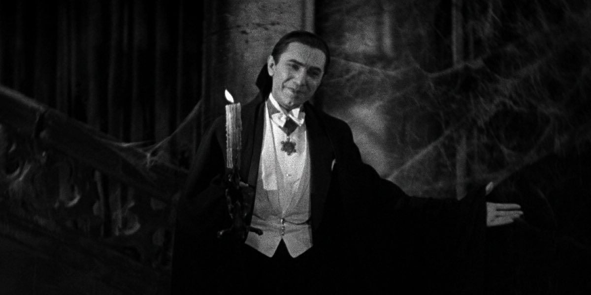 Bela Lugosi as Dracula bids you welcome to the Bill Makes Podcast Website