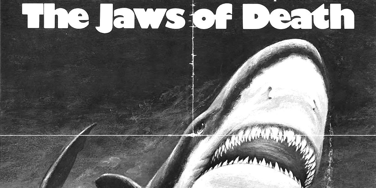 A shot of the poster for Mako: The Jaws of Death