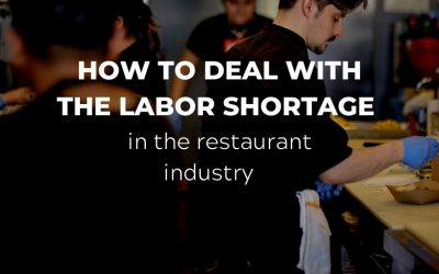 How to deal with the labour shortage in the restaurant industry
