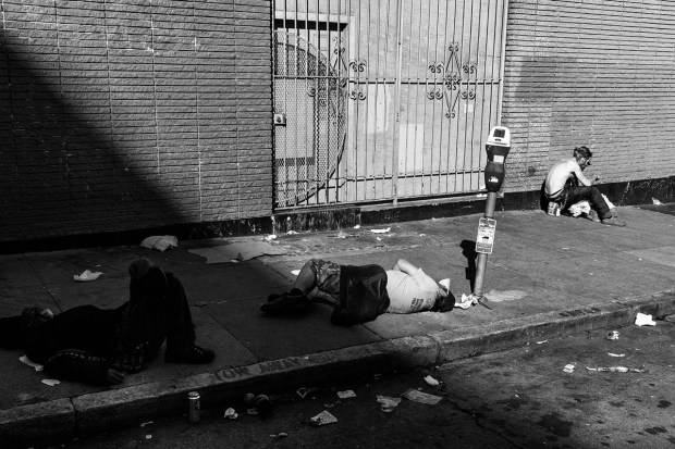 Die on the streets