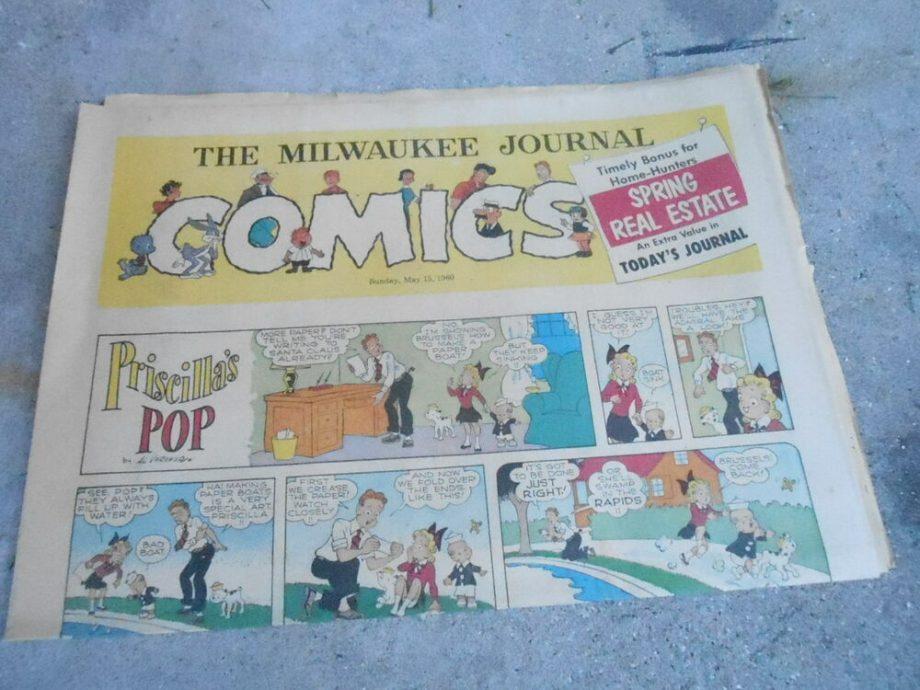 Bring back the Sunday comics -