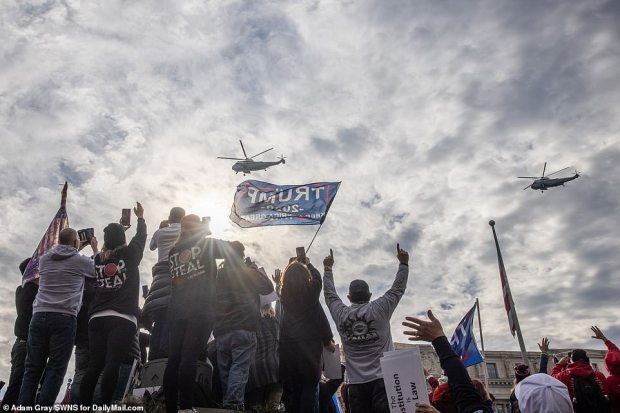 Patriots rally in Washington