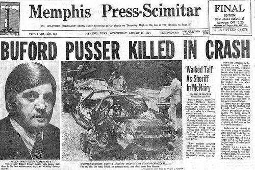 KILLED IN CAR CRASH