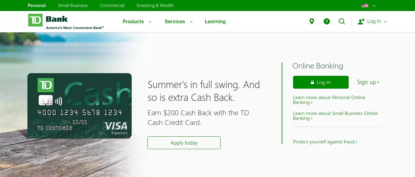 Td Bank Personal Loans