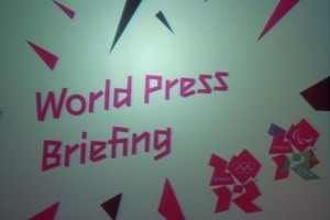 London – day 1 of world press briefing