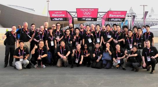 NPS crew at the London Olympics