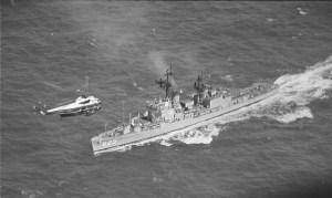 Splashdown USS Hornet