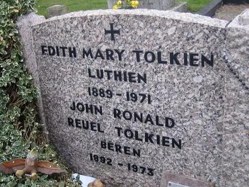 Tolkiens Tombstone