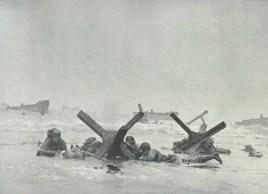 Omaha Beach obstacles
