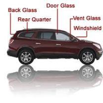 Plano auto glass