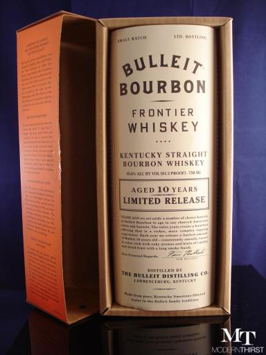 Bulleit 10 open box