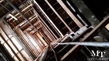 k House elevator shaft