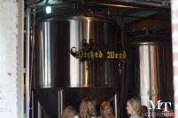 Wicked Weed fermenting tanks