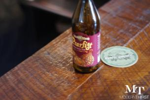 Pearfigt beer, at the Funkatorium, by Wicked Weed