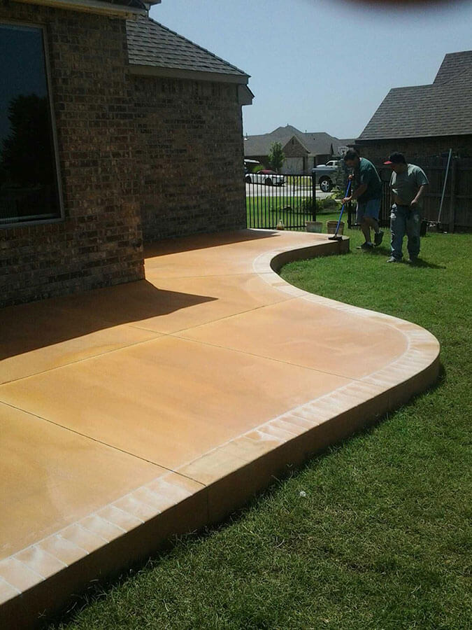 cement driveways patios and sidewalks