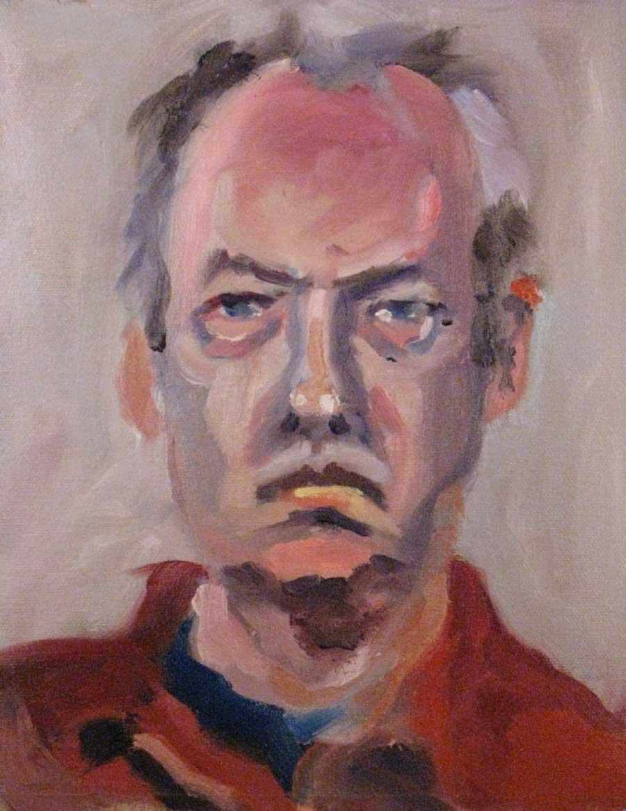 one hour self portrait