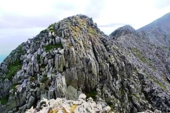 The Knife Edge from Pamola Peak