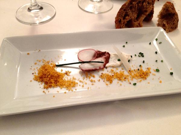 A dish as served at Somodó