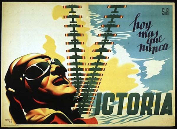 Republican Air Force poster from the Spanish Civil War