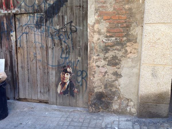 Amelia Earhart II in Poble Sec, Barcelona, August 2015 by Bill Sinclair