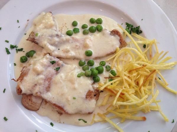 Segundo plato, menu del día, Can Codina, Barcelona, Bill Sinclair
