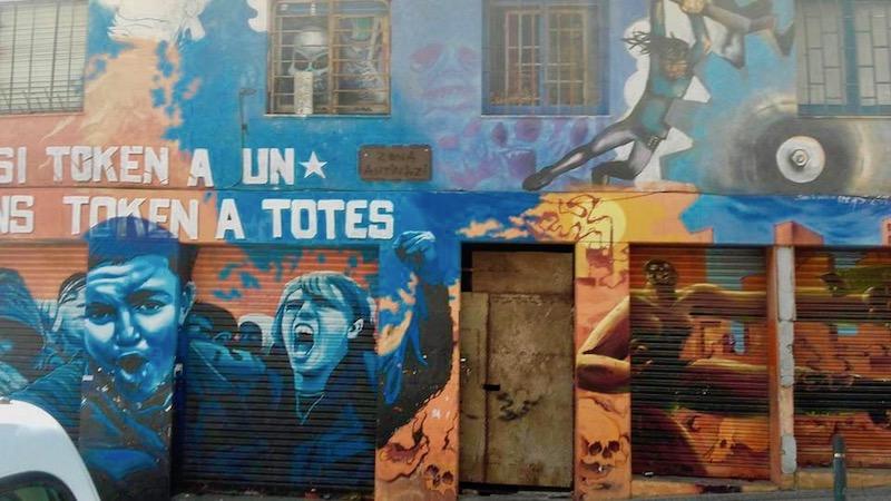 Graffiti in La Salut, Barcelona