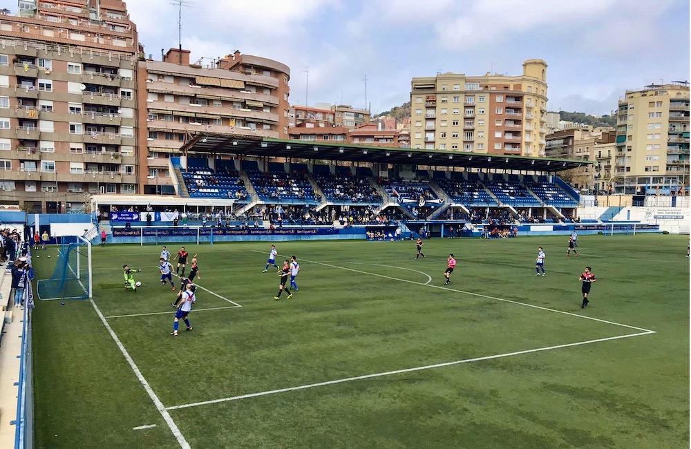 Camp Nou Sardenya, Gràcia, Barcelona