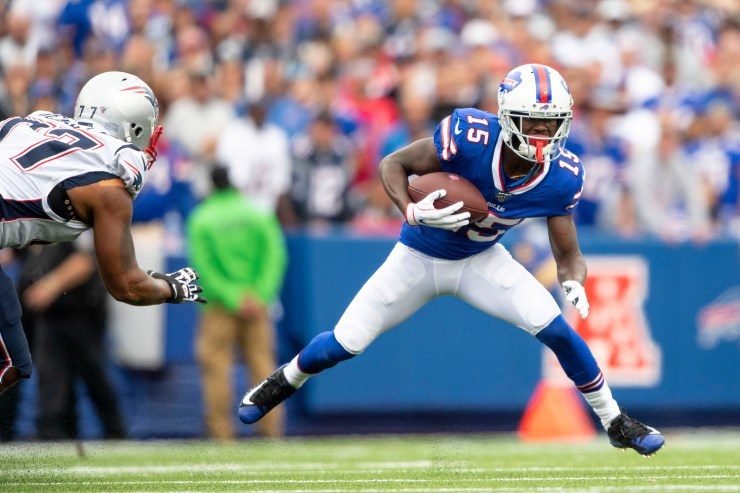 PFF tabs Buffalo Bills' John Brown a top-25 WR