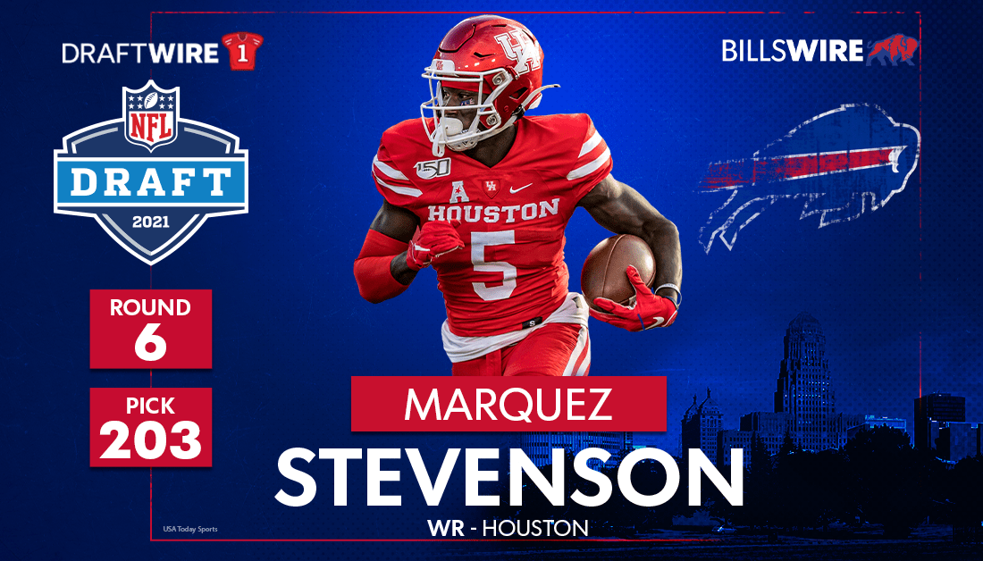 8 things to know about new Buffalo Bills WR Marquez Stevenson