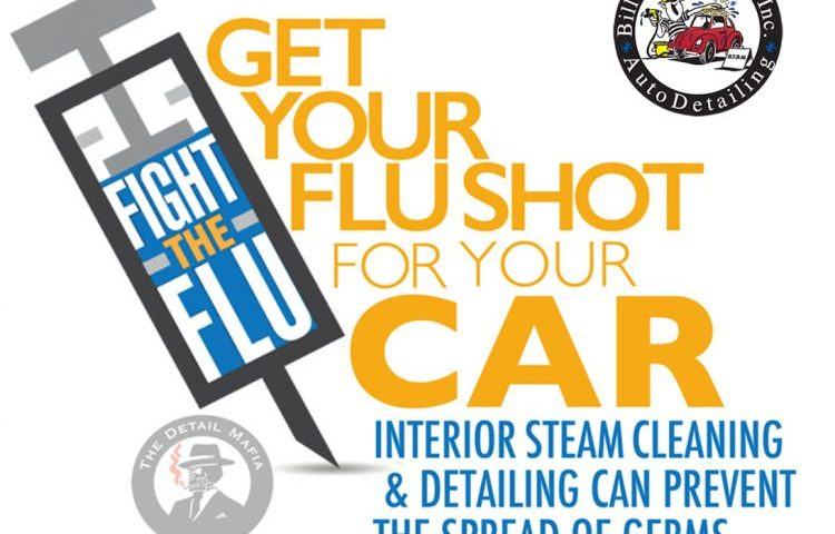 Give Your Vehicle a Flu Shot – Bill the Buff Man Auto Detailing