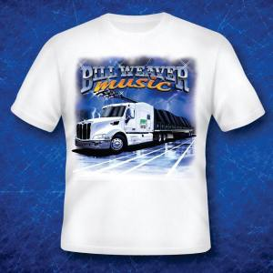 Bill Weaver Music Tshirt
