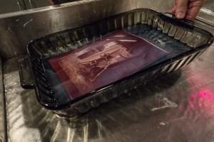 processing albumen print