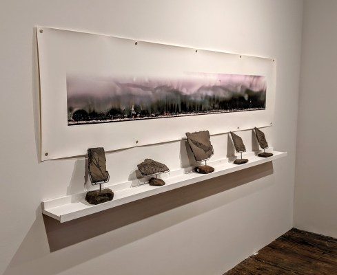 Anthropocene and Borderlands at Foley Gallery