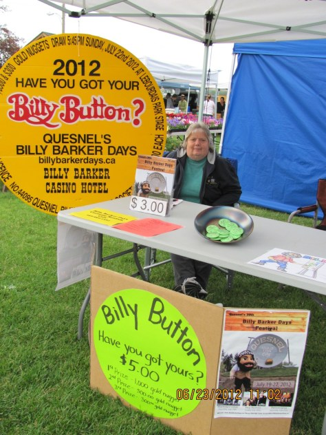 Billy Button Sales at the Farmers Market