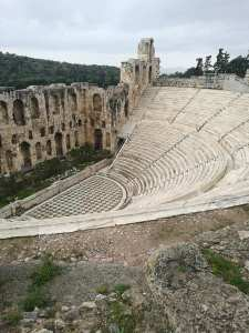 Theatre of Dionysus at the Acropolis in Athens