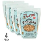 Bob's White Popcorn in a 4-pack from Amazon.com