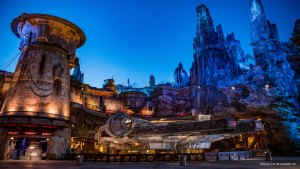 The Planet Batuu from Star Wars at Disneyland