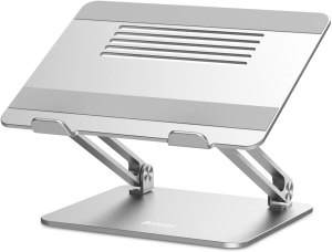Boyata Laptop Stand in elevated position