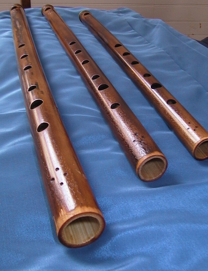 D, Eb, and F flutes