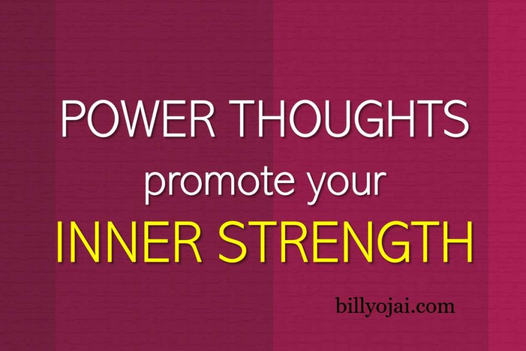 promote your inner strength