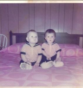 Maggy et moi en 1973