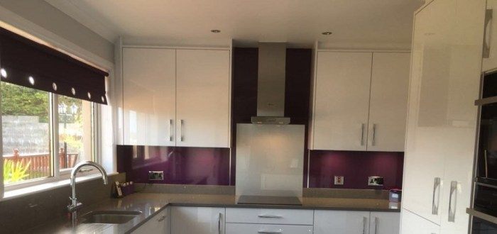 image for Kitchen Design, Supply And Installation Of The Furore Icy White  range. By Billy Walker Joinery Services Ltd, Fraserburgh, Aberdeenshire.