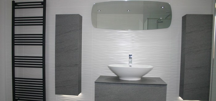 image for Bathroom Design, Supply And Installation Of The Eco Riva Modular  range. By Billy Walker Joinery Services Ltd, Fraserburgh, Aberdeenshire.