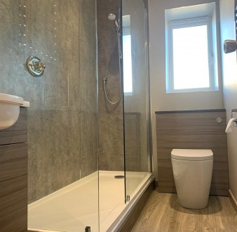 image for Bathroom Design, Supply And Installation Of The Shower Room 3. By Billy Walker Joinery Services Ltd, Fraserburgh, Aberdeenshire.