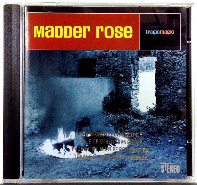 Madder Rose - Tragic Magic (Promo CD)