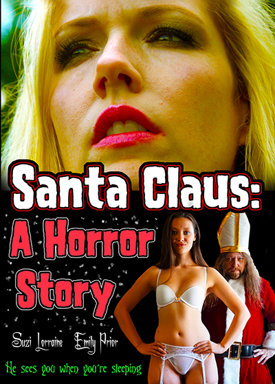 """This is the DVD cover for """"Santa Claus: A Horror Story"""""""