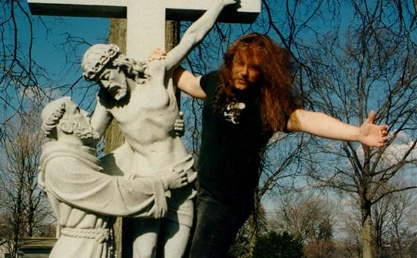 bill zebub on a cross