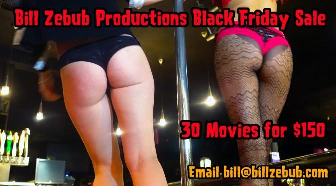 Bill Zebub Productions Black Friday Sale